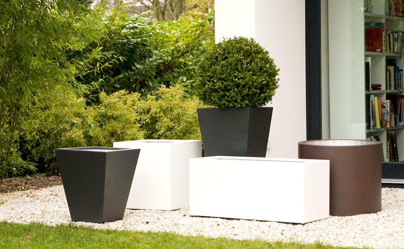 Pflanzgefäße - Solide & individuell gefertigte Gefäße bieten den Pflanzen einen schönen Platz