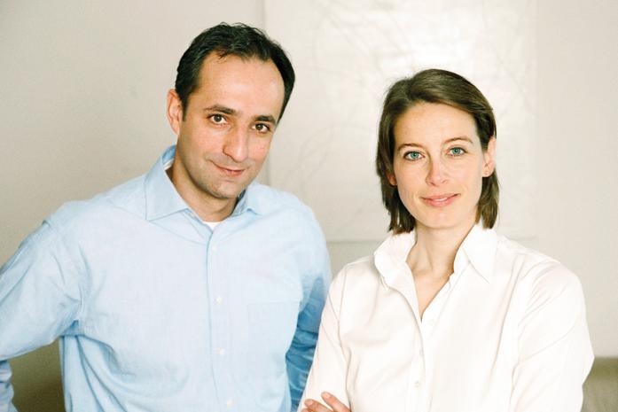 Kathrin Bartmer und Timur Haider