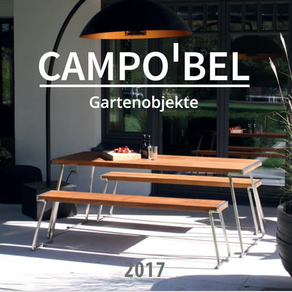 campobel gartenm bel und edelstahlgrills katalog. Black Bedroom Furniture Sets. Home Design Ideas